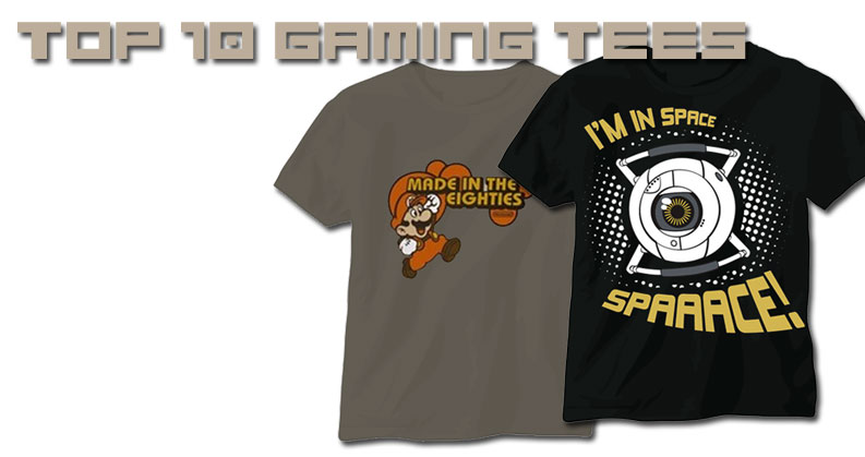 Top 10 Best Video Game T-Shirts