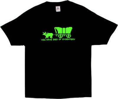 Oregon Trail Dysentery Shirt