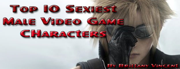 Top 10 Sexiest Male Video Game Characters