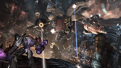 Transformers: War for Cybertron Interview
