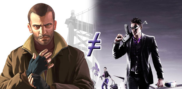 Why Saints Row Is Not Grand Theft Auto