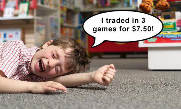 trade used video games
