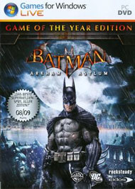 Batman: Arkham Asylum (PS3, Xbox 360, PC)