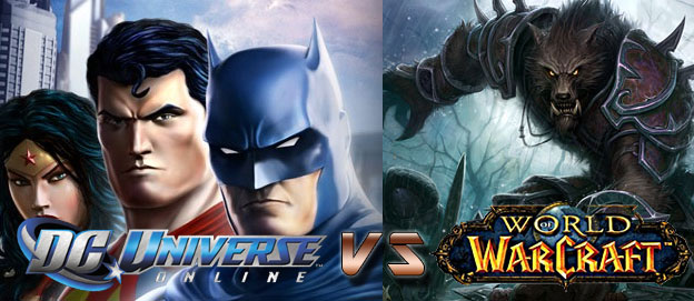 World of Warcraft vs. DC Universe Online