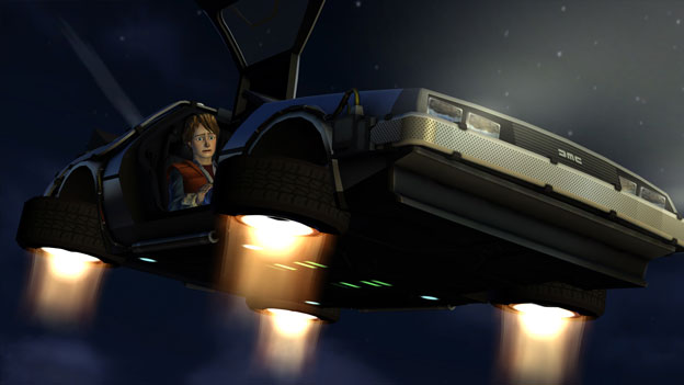 Back to the Future: The Game: Episode 5: Outatime! Screenshot