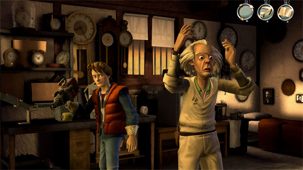 Back to the Future: The Game Screenshot