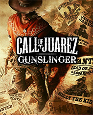 Call of Juarez: Gunslinger Box Art