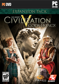 Civilization V: Gods and Kings Box Art