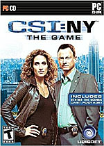 CSI NY: The Game box art