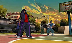 Freestyle Street Basketball screenshot