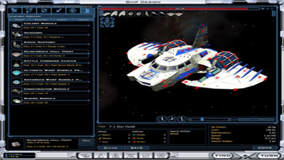 Galactic Civilizations II: Twilight of the Arnor screenshot