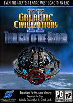 Galactic Civilizations II: Twilight of the Arnor box art