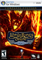 The Lord of the Rings Online: Mines of Moria box art