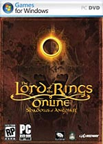 The Lord of the Rings Online: The Shadows of Angmar box art