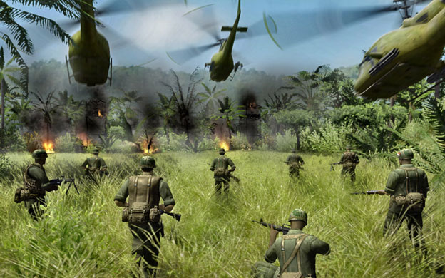 Men of War: Vietnam Screenshot
