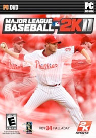 Major League Baseball 2K11 Box Art