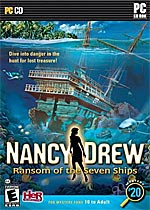 Nancy Drew: Ransom of the Seven Ships box art