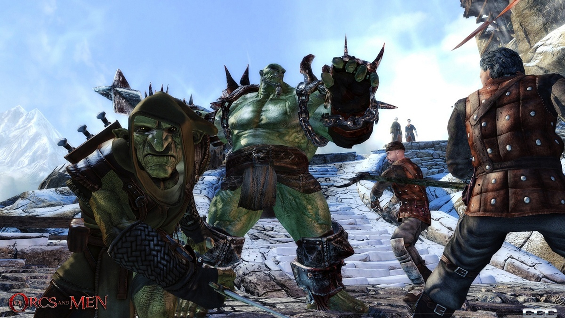 Of Orcs and Men image