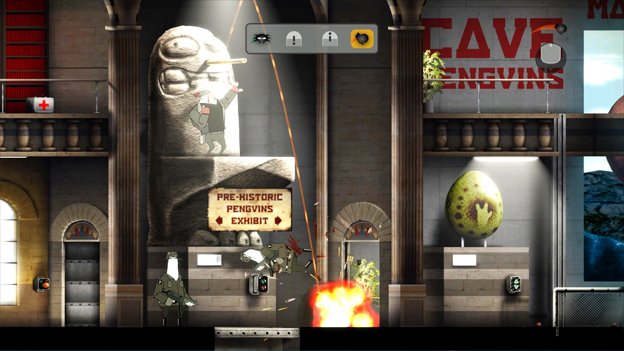 Rocketbirds: Hardboiled Chicken Screenshot