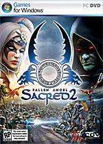 Sacred 2: Fallen Angel box art