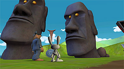 Sam & Max Episode 202: Moai Better Blues screenshot