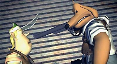 Sam & Max: The Devil&#146s Playhouse Episode 3: They Stole Max&#146s Brain! screenshot