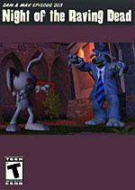 Sam & Max Episode 203: Night of the Raving Dead box art