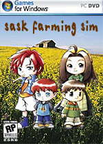Sask Farming Sim box art