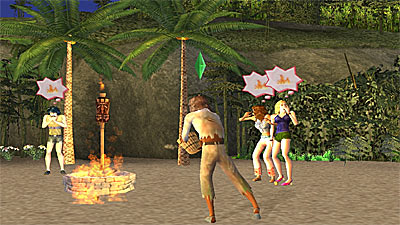 The Sims: Castaway Stories screenshot