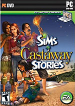The Sims: Castaway Stories box art