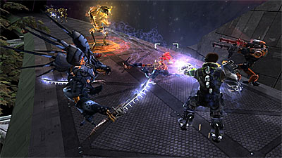 Space Siege screenshot