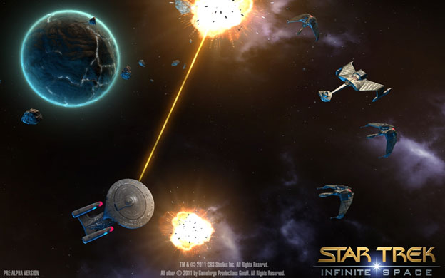 Star Trek: Infinite Space Screenshot