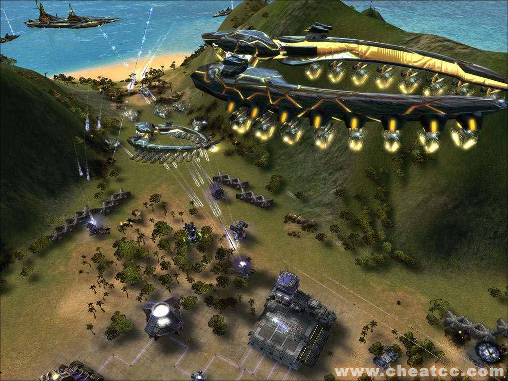 Supreme Commander: Forged Alliance Review for PC