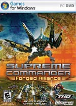 Supreme Commander: Forged Alliance box art