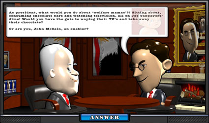 The Political Machine 2008 screenshot