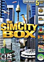 The SimCity Box box art