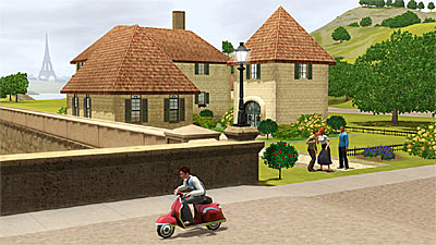 The Sims 3: World Adventures screenshot