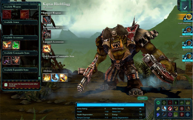 Warhammer 40,000: Dawn of War II: Retribution Screenshot