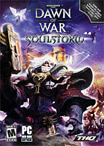 Warhammer 40,000: Dawn of War - Soulstorm box art