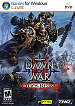 Warhammer 40,000: Dawn of War II - Chaos Rising box art