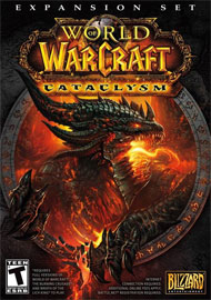 World of Warcraft: Cataclysm Box Art