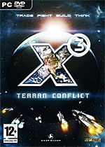 X3: Terran Conflict box art