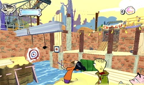 Ed Edd N Eddy The Mis Edventures Review Preview For The Gamecube