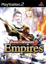 Dynasty Warriors 5: Empires box art