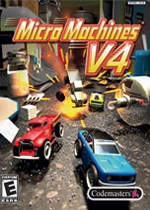 Micro Machines V4 Box Art