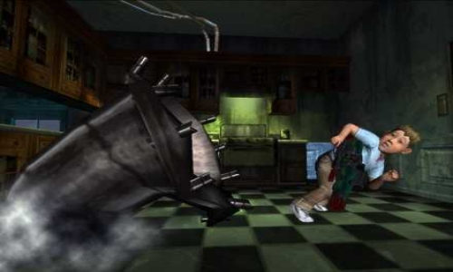 Monster House screenshot
