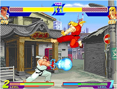 Street Fighter Alpha Anthology Review Preview For Playstation 2