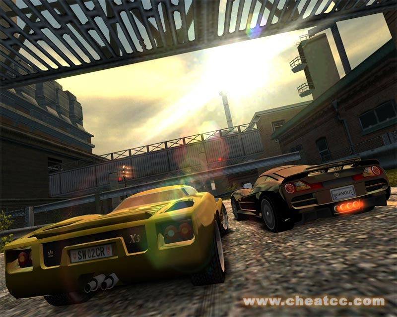 Ps2 burnout domination cheat codes