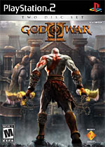 God Of War II box art