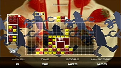 Lumines Plus screenshot